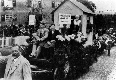Kinder- und Blumenfest - 1933